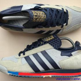 adidas Runner Super vintage 1978 West Germany grey black