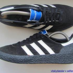 adidas Montreal 76 vintage 1976 West Germany black white