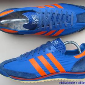 adidas Sao Paulo vintage West Germany 1978 blue orange