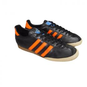 adidas Bamba vintage 1978 black orange