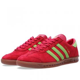 adidas Hamburg D65191 Vietnam 2014 red green