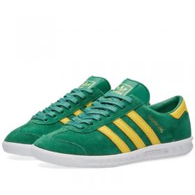 adidas Hamburg S74840 Vietnam 2016 green yellow