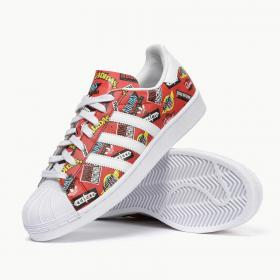 adidas Superstar x NIGO S83388 Vietnam 2015 red white
